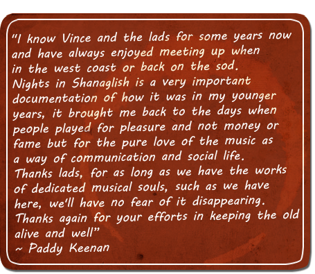quote from paddy keenan